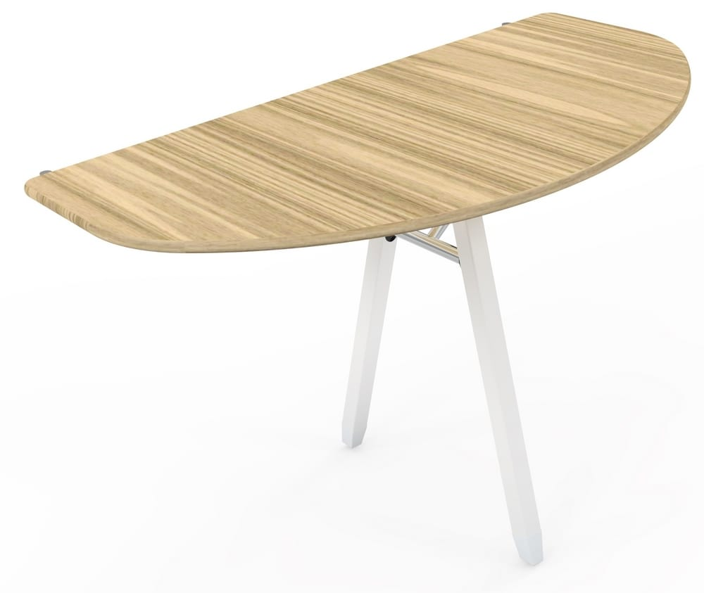 Designer halfmoon folding table