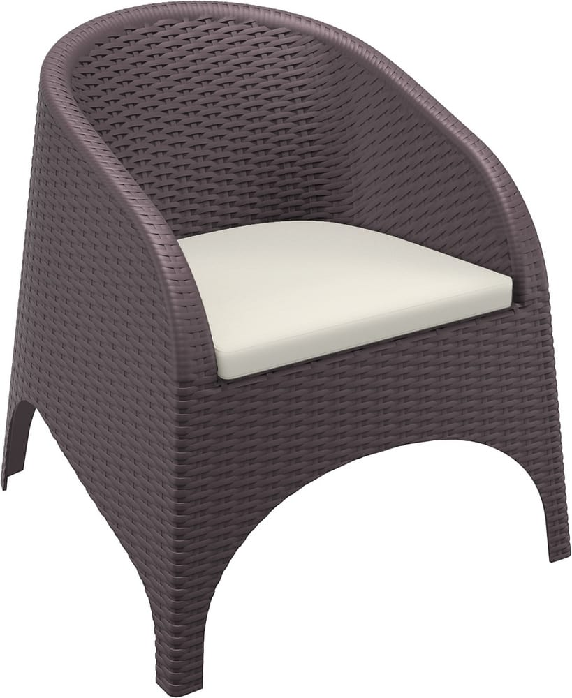 ARIEL - Stacking resin armchairs for outdoor restaurants