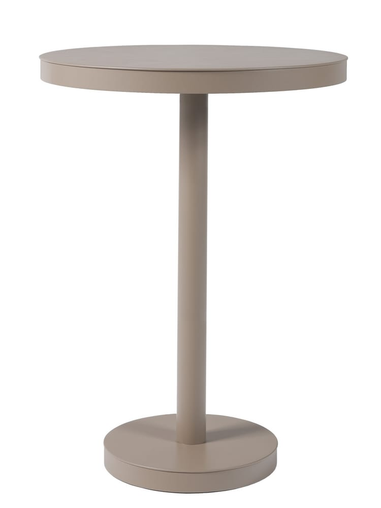 Aluminium high table