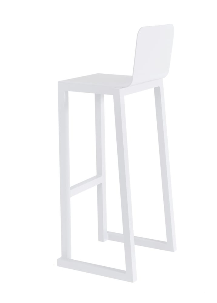 Outdoor aluminium bar stool