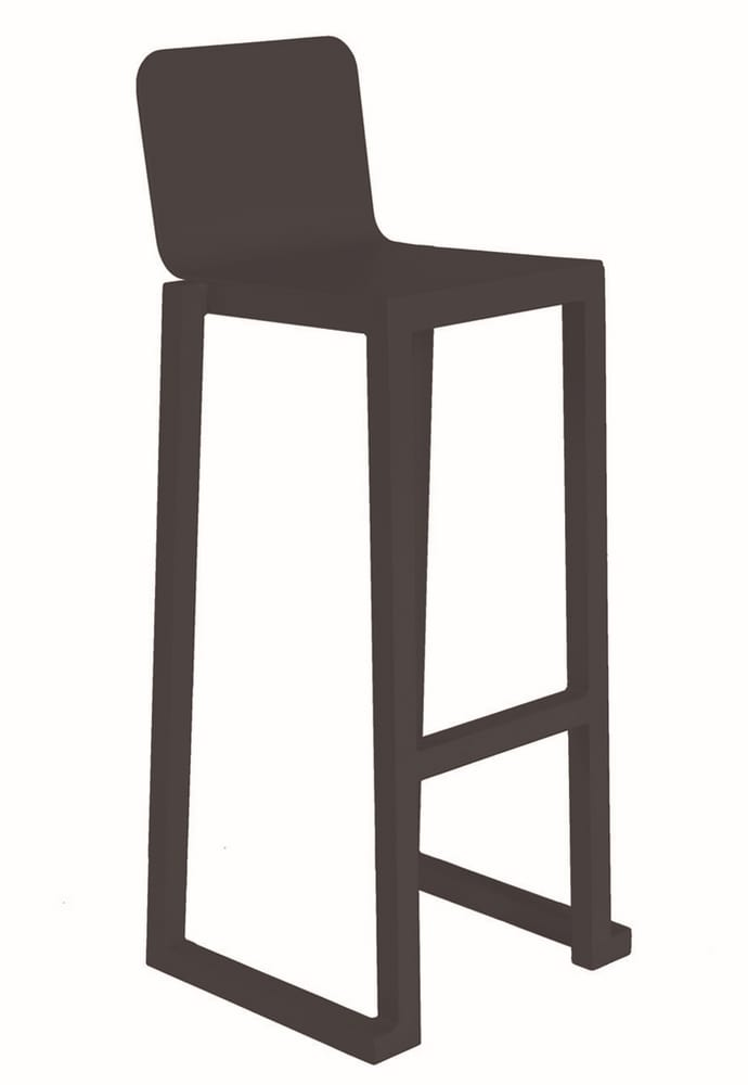 Outdoor stackable bar stool