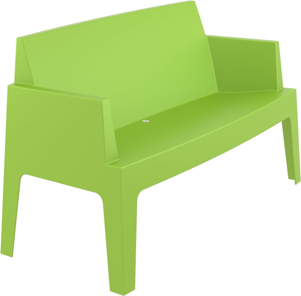 Outdoor plastic sofa