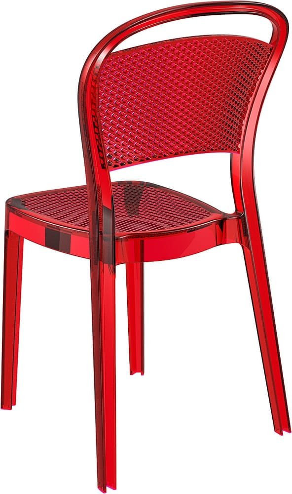 Stacking polycarbonate chair