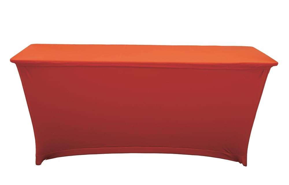 Lycra stretch table cloth