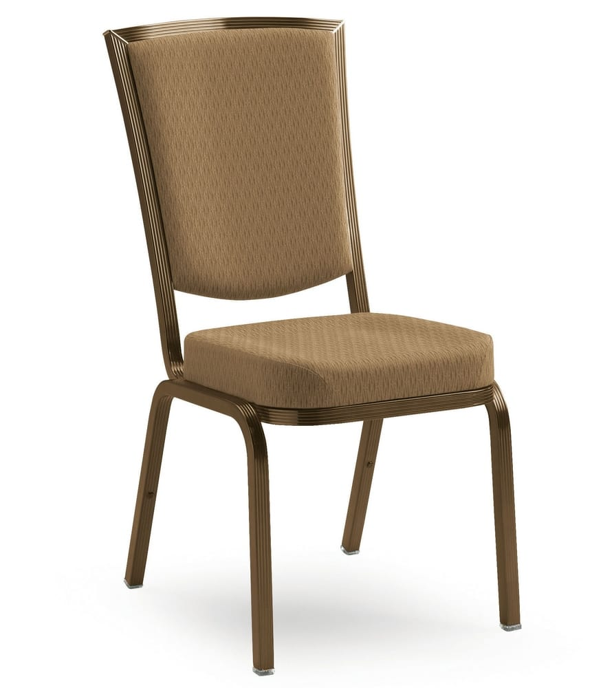 Stacking conference and banquet chair