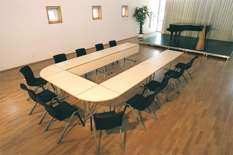 CONFERENCEFolding Tables For Conference And Meeting Tonon - Horseshoe conference table