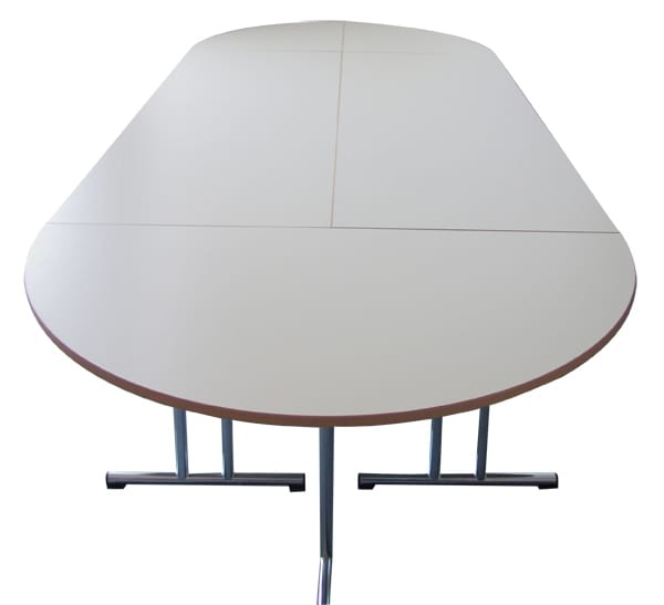 Oval meeting room table