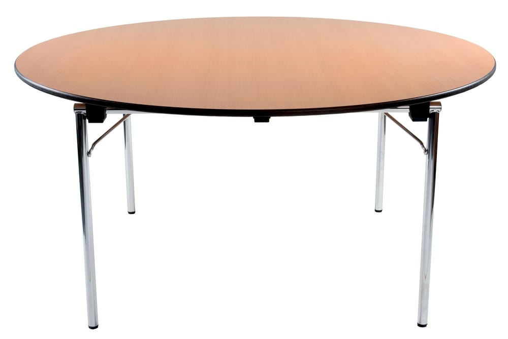 Round table with high pressure top
