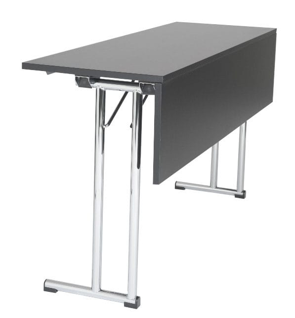 Table with front modesty panel