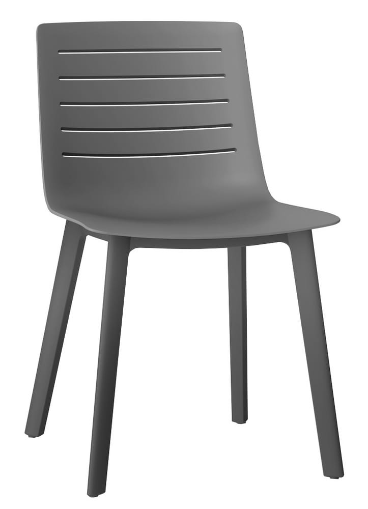 Grey restaurant chair