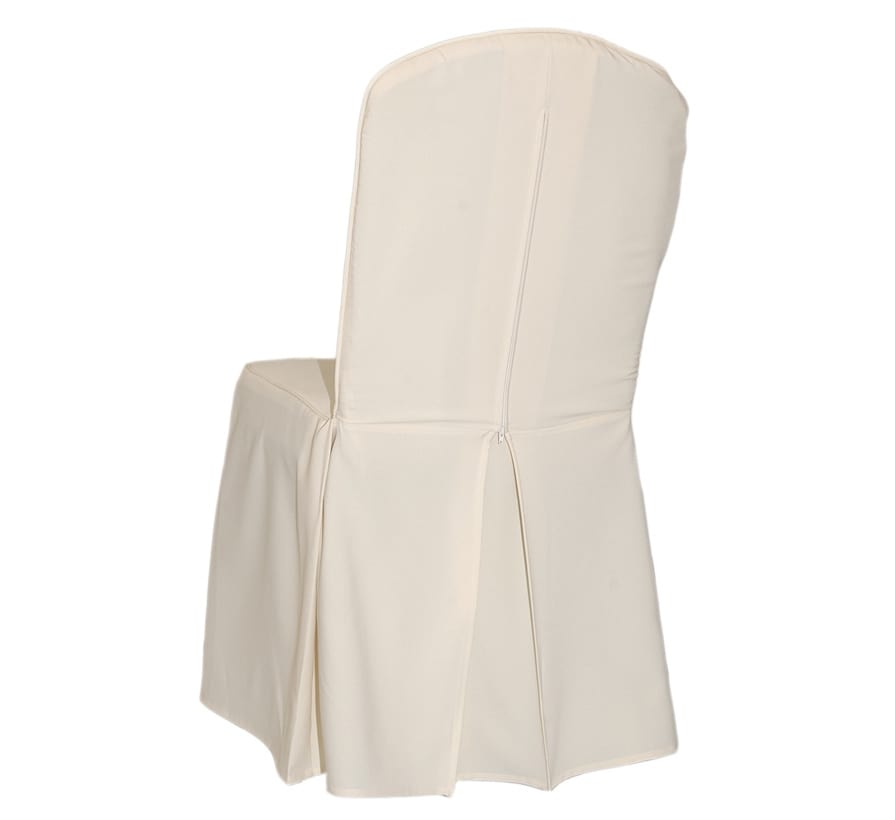 Chair cover in polyester fabric