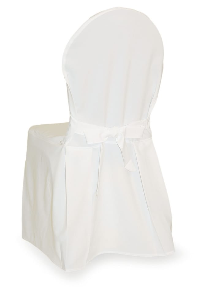 Chair cover in white colour
