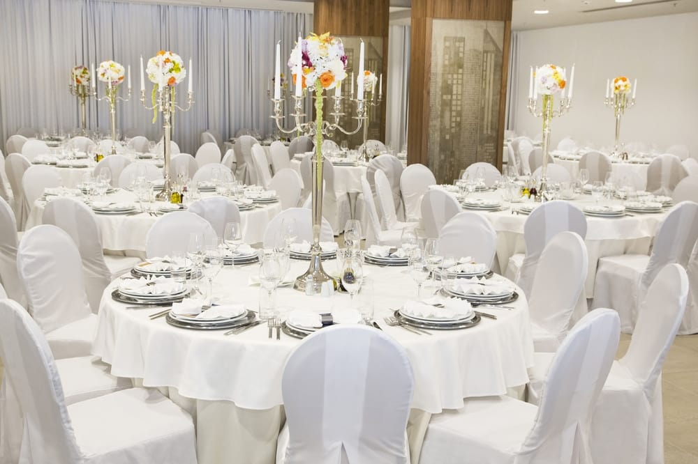 Chair covers for catering