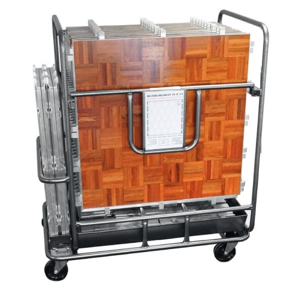Transport and storage trolley