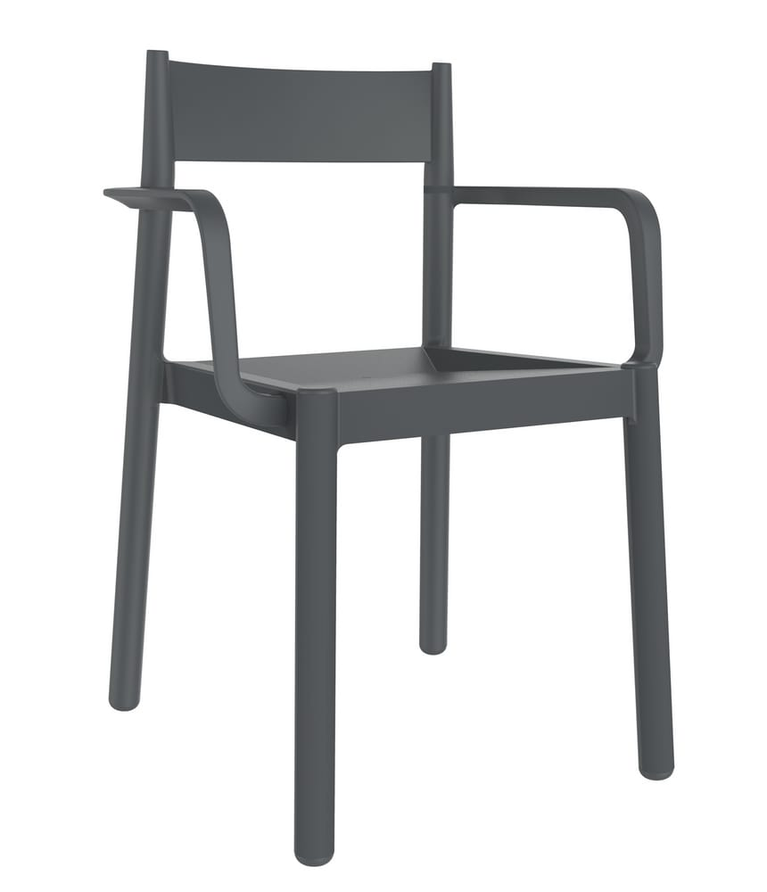 DANNA - Plastic designer chairs for outdoors and indoors