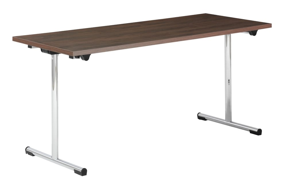 Meeting table with folding legs