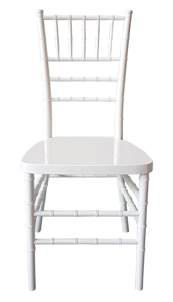 ECO-CHIAVARI - White chairs for wedding and for ceremony