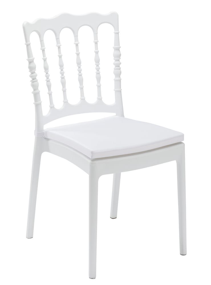 White Parisian chair for catering