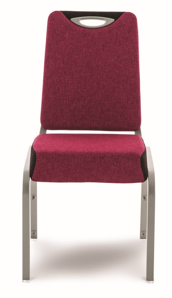 Stacking chair for conferences