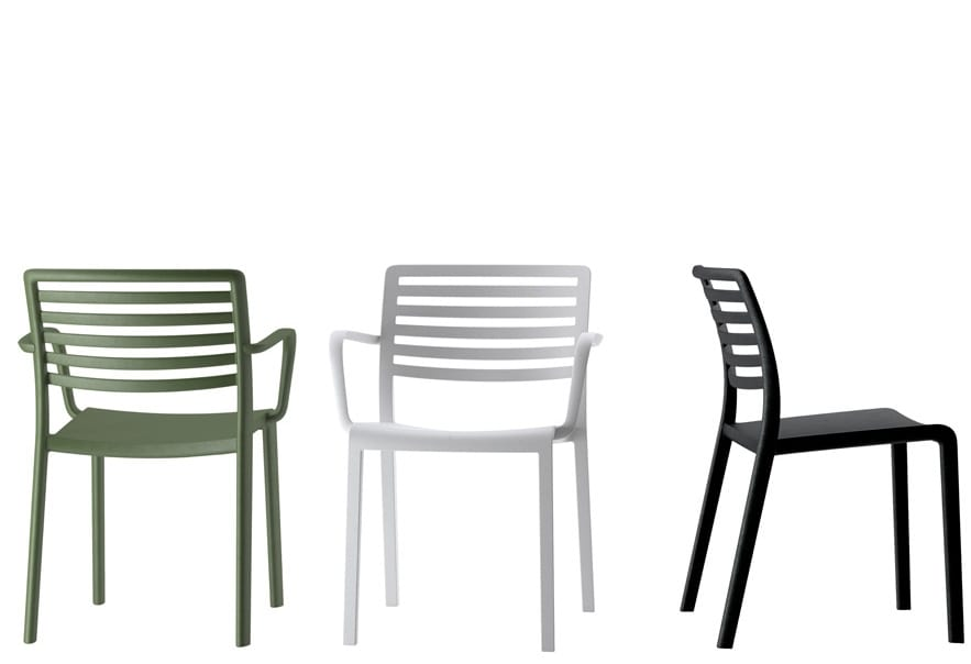 Chairs with arms or without