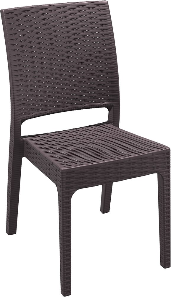 LIPARI - Resin chairs for outdoor restaurants and pubs