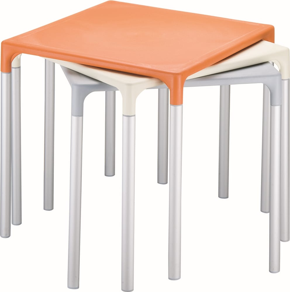 Square stacking tables
