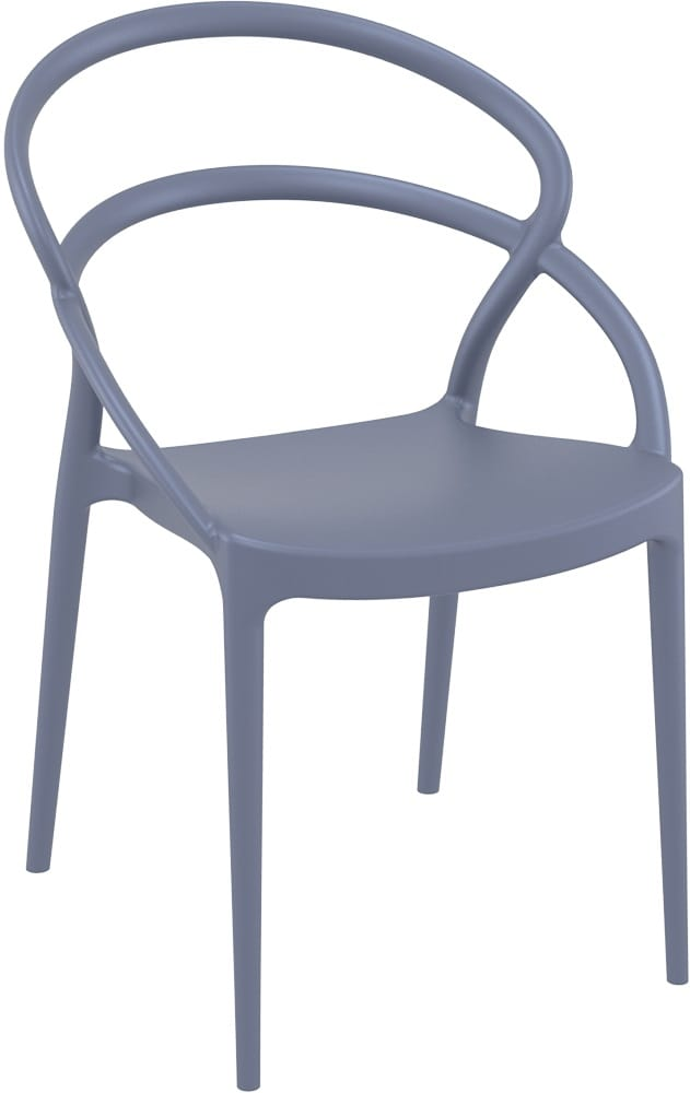 Polypropylene designer chair