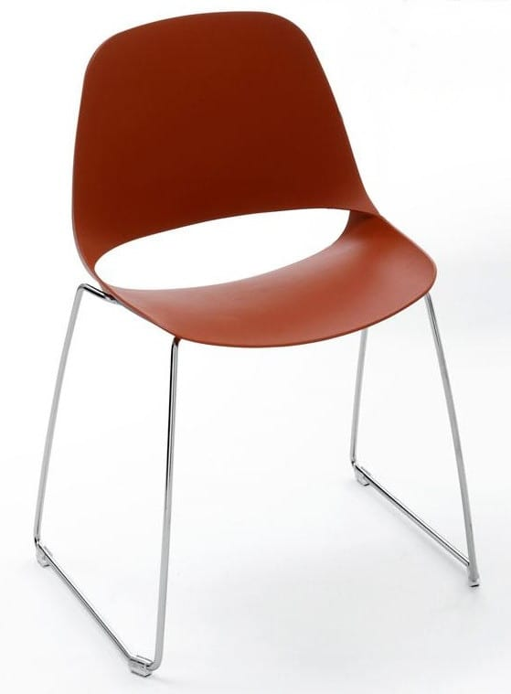 MEETING-T - Stackable chairs for meeting rooms