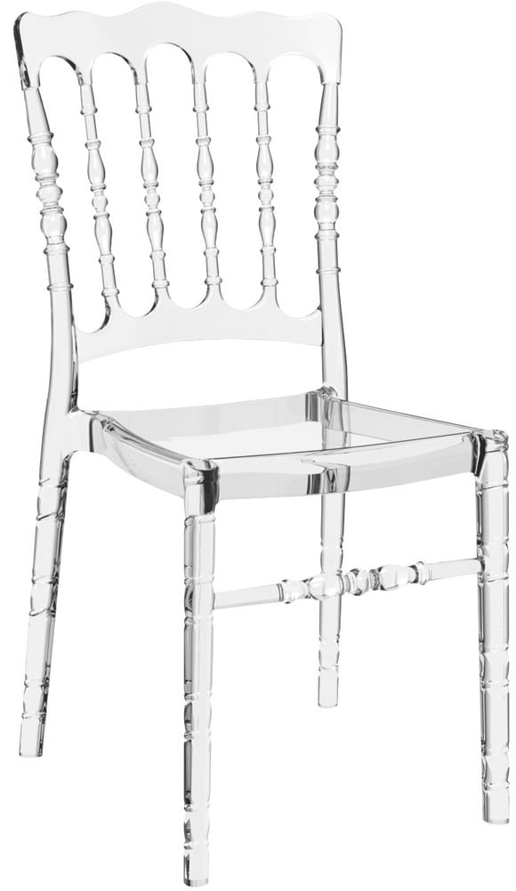 NAPOLEONE - White chiavari chairs for banquet and events