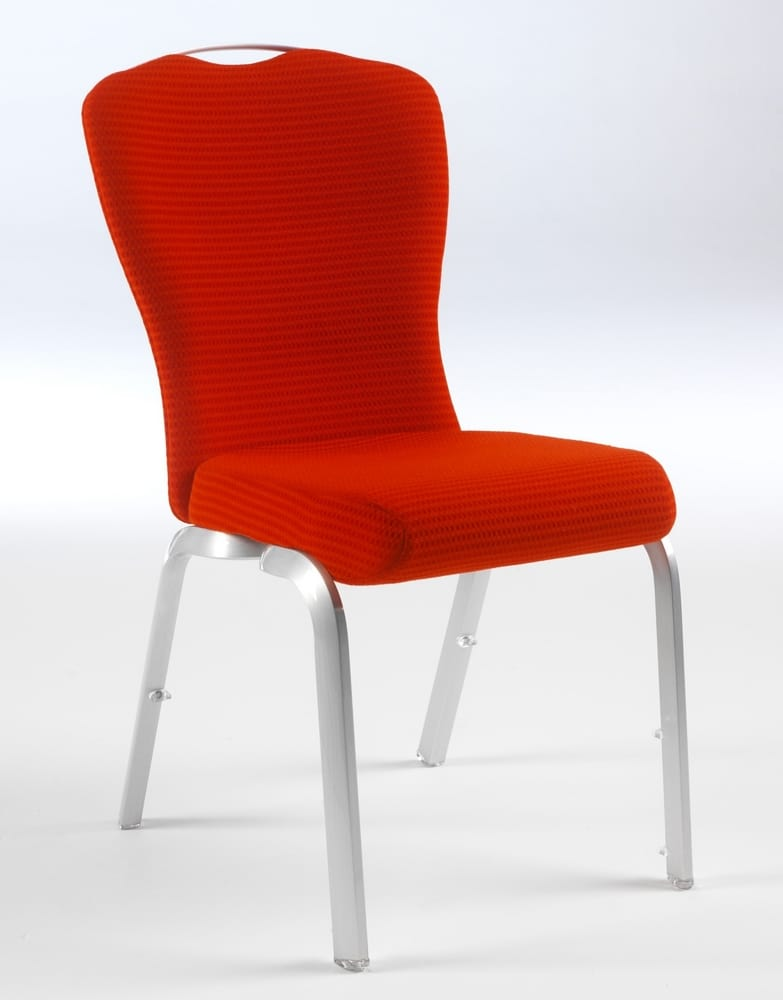 Meeting chair with handle