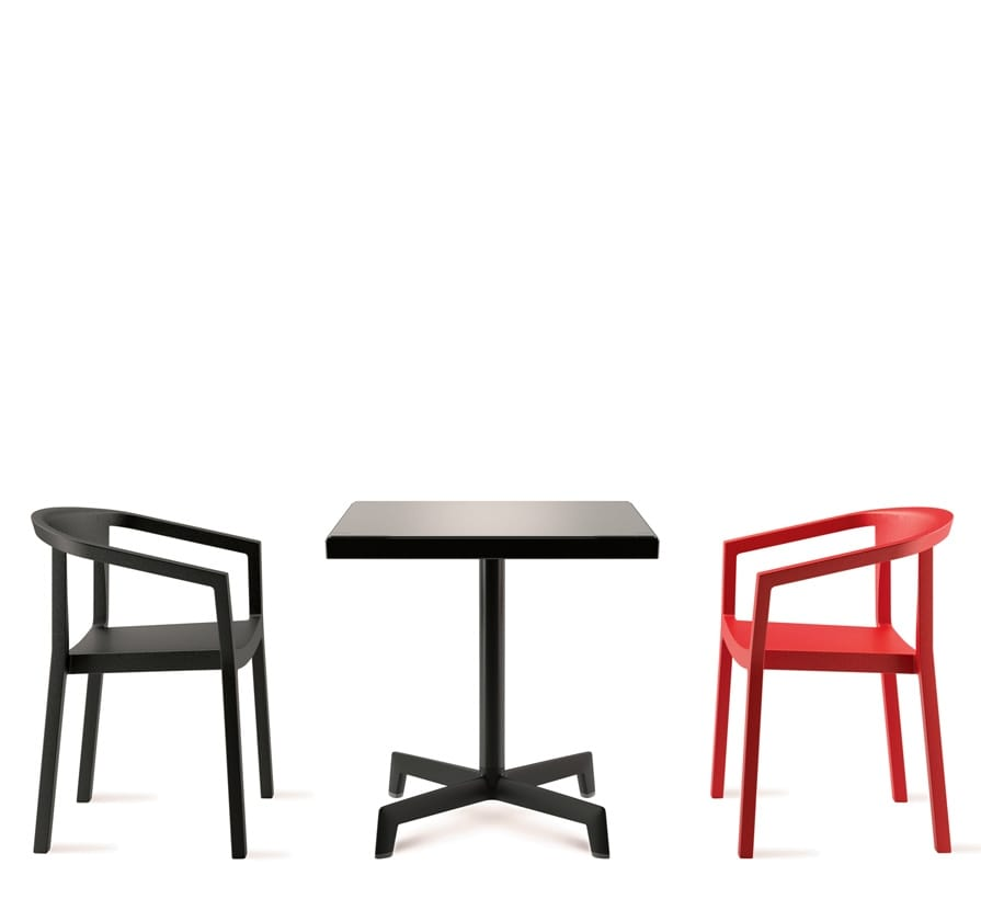 Chairs and table for bars