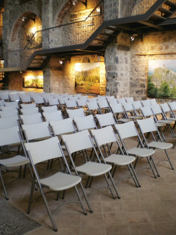 Conference folding chairs