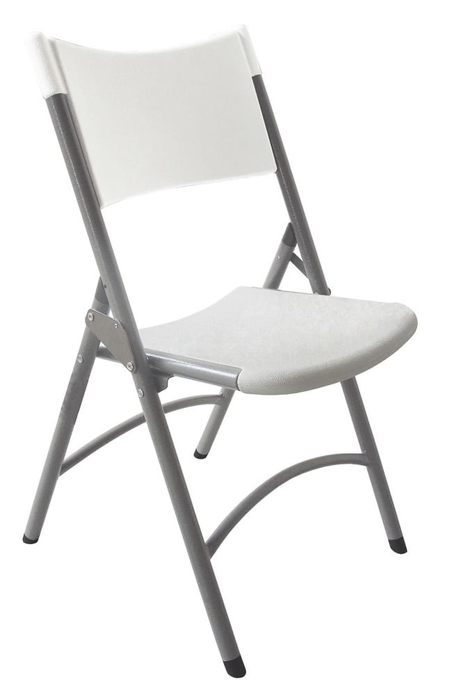 Outdoor folding chair for events