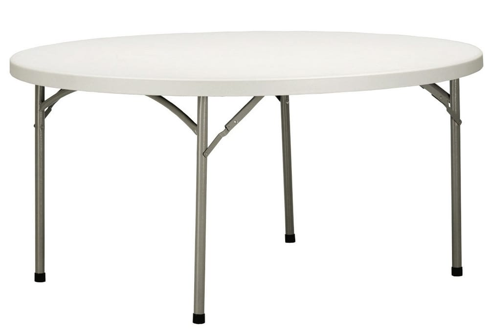 Folding table for catering and banqueting