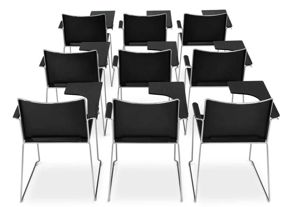 Conference chairs with tablet