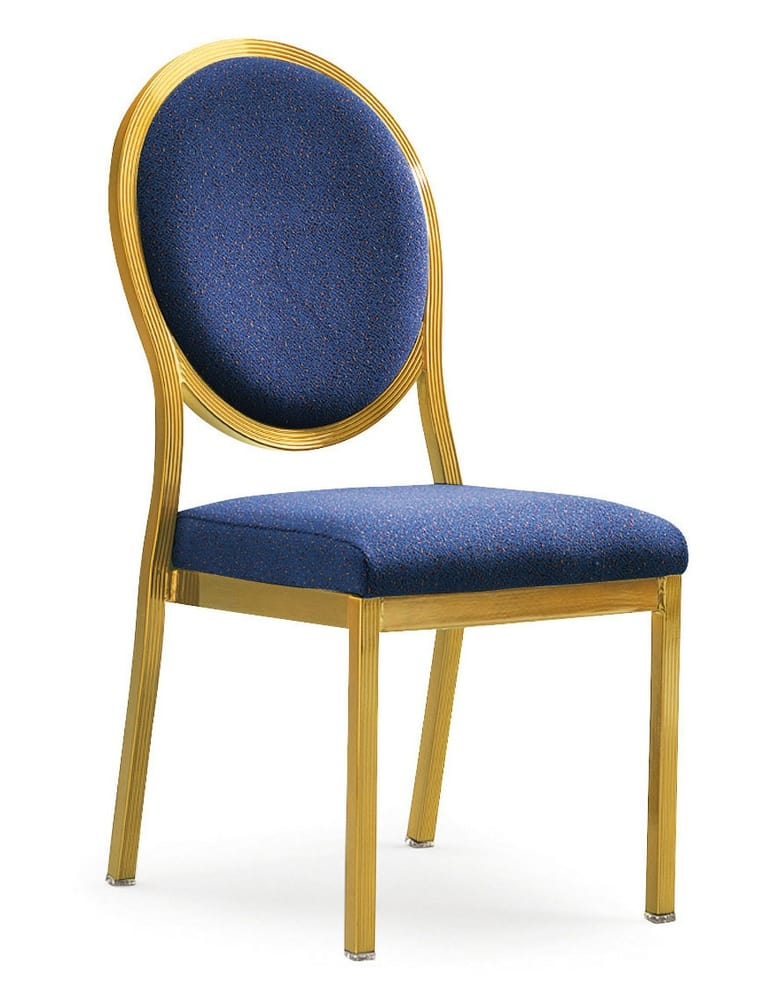 SALON - Aluminium banqueting chairs for luxury hotels