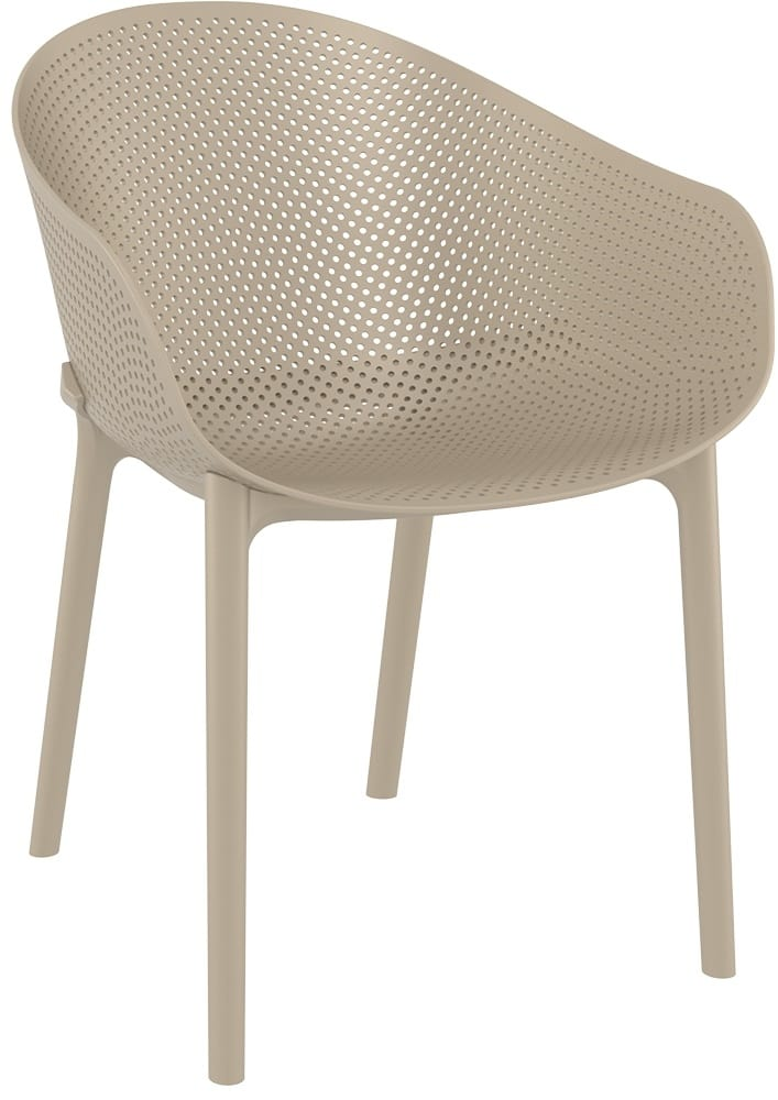 SERA - Plastic chairs for outdoor restaurants