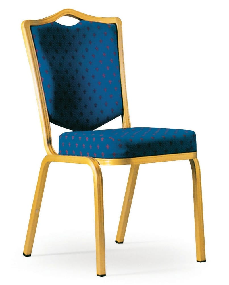 Chair with golded frame