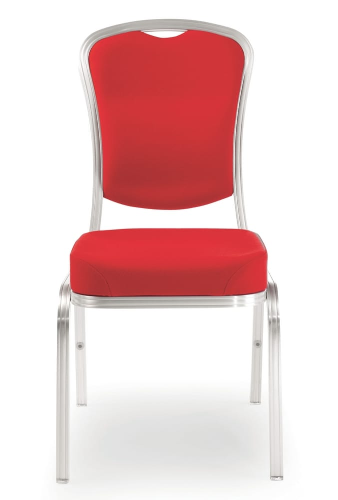 Upholstered chair for conference rooms
