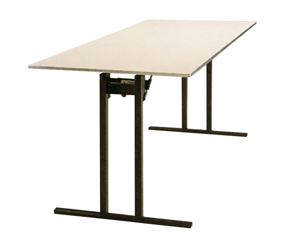 Table with T-bar legs