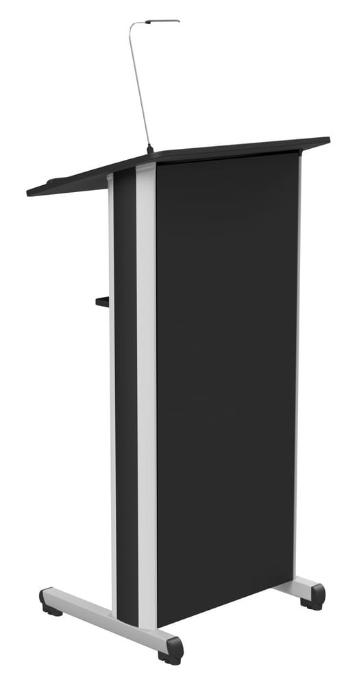 STAND SMART - Lectern with led light for speakers