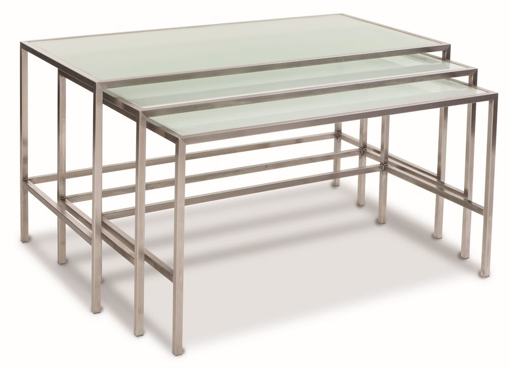 Stacking buffet tables