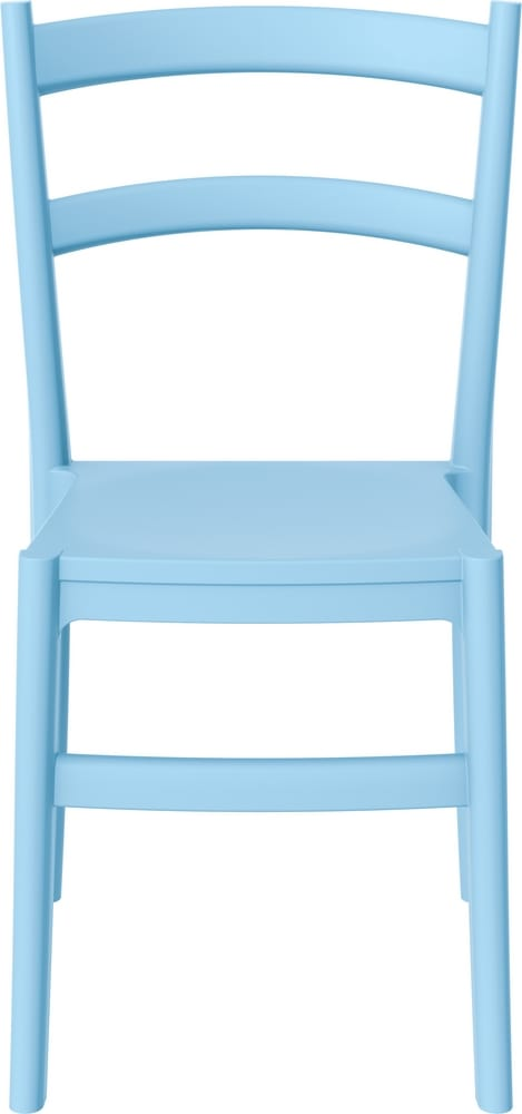 Chair in light blue colour