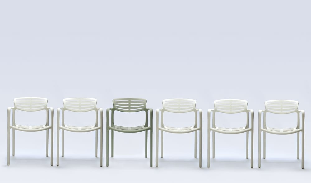 Design plastic chairs