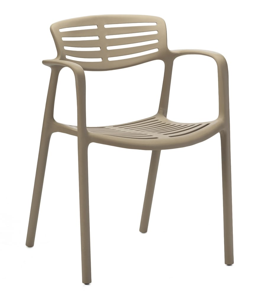 TERESA - Design plastic chairs with arms