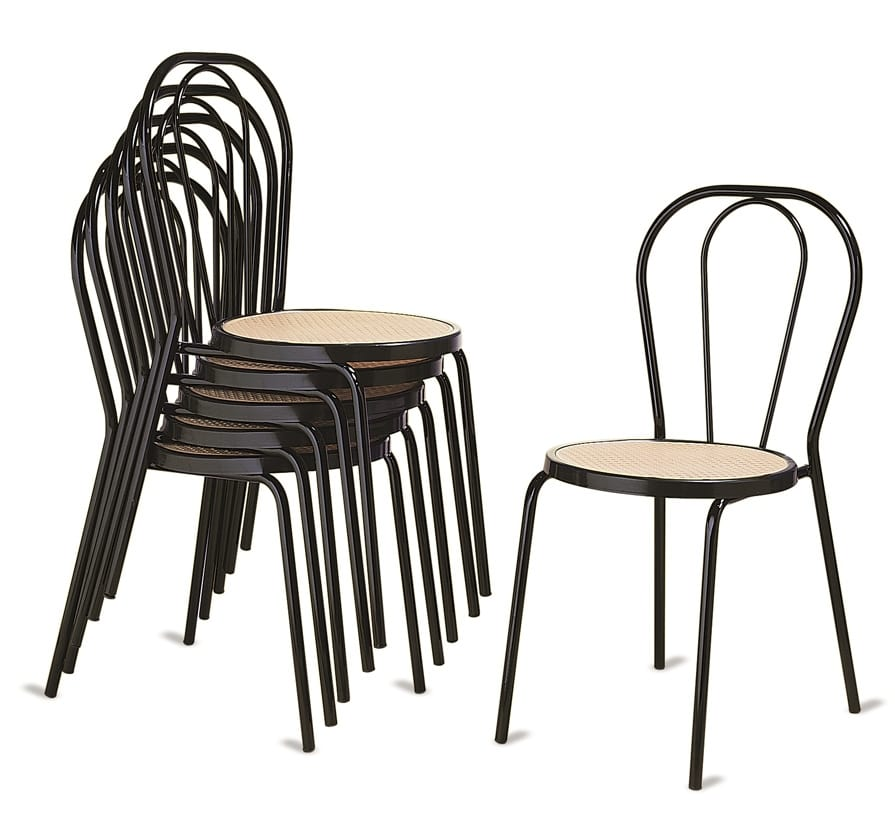 Stackable chairs for events