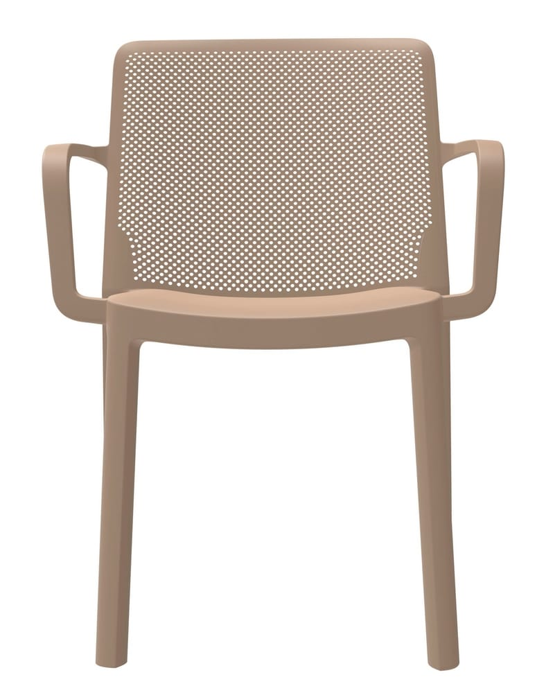 Lightweight stackable chair for outdoor