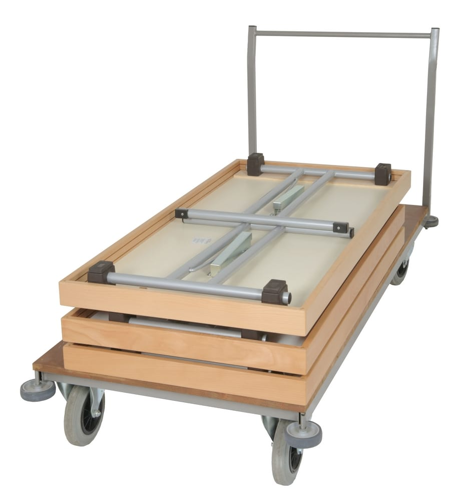 Trolley for conference tables