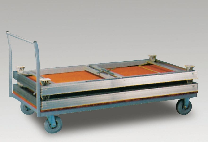 Trolley for transport and storage