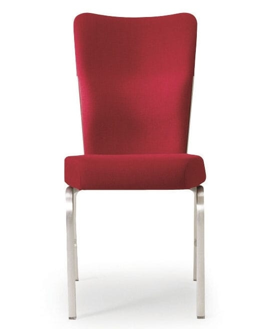 Upholstered chair for meeting